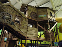 huge indoor climbing frame