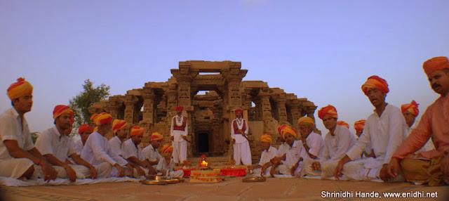 Historic Kiradu temples in Barner Rajasthan