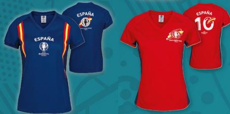 camiseta de fútbol España Euro 2016 para mujer Lidl