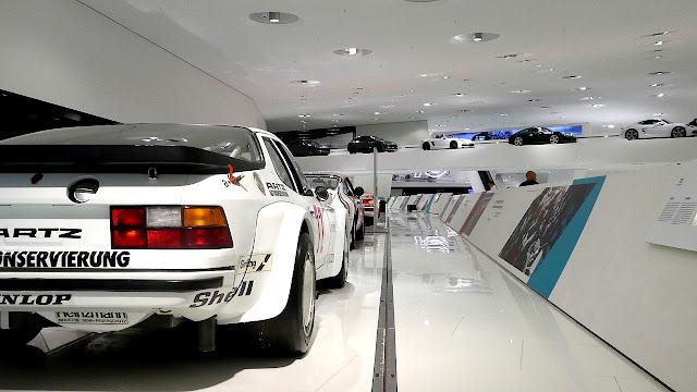 Porsche Museum in Stuttgart