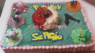 Tarta de Chuches Pokemon