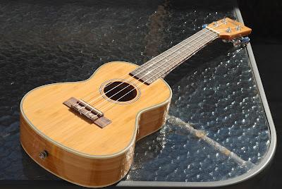 Moselele Bambookulele concert ukulele