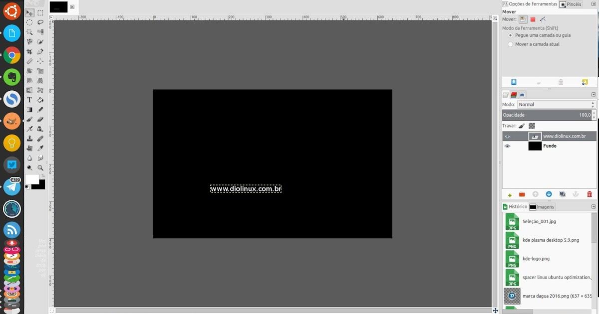 Gimpps Um Tema Adobe Photoshop Para O Gimp Diolinux