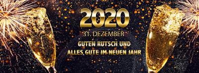 Neujahrs Facebook Banner 2020