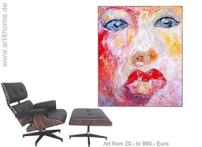 Online Kunst-Webshop. Plattform für großformatige junge Kunst und abstrakte Malerei.