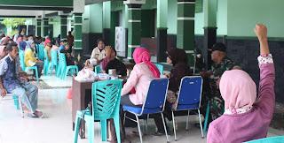 Penderita Katarak di Screning Kodim 0813/Bojonegoro