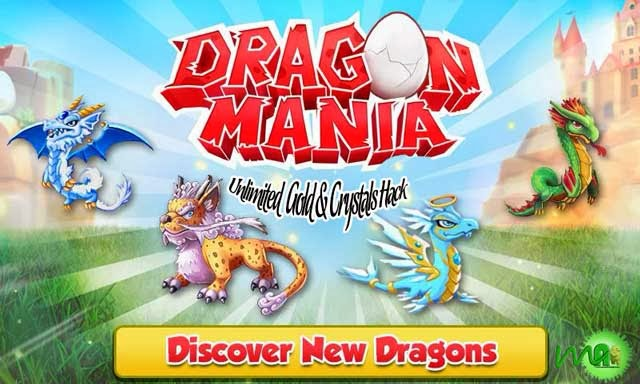 Dragon Mania MOD (Unlimited Gold/Crystals) APK