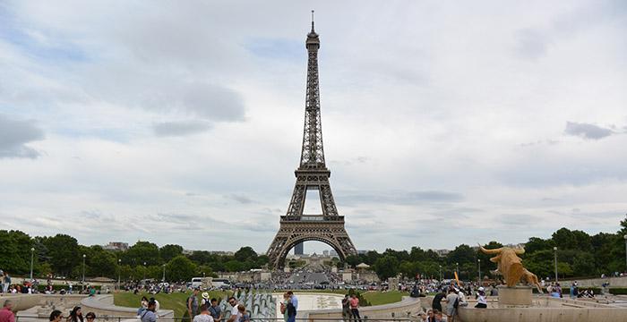 Francia, itinerario parís