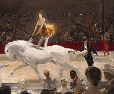 """The Circus"" (detail) by George Bellows, 1912"