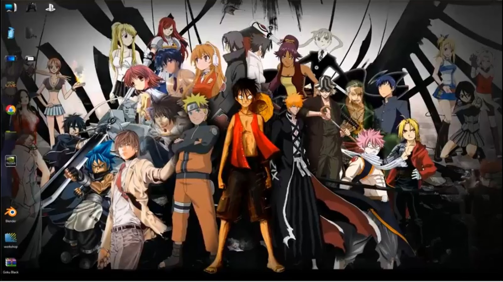 Anime 4k Wallpaper: All Star Anime Heroes 4k Live Wallpaper Free Download