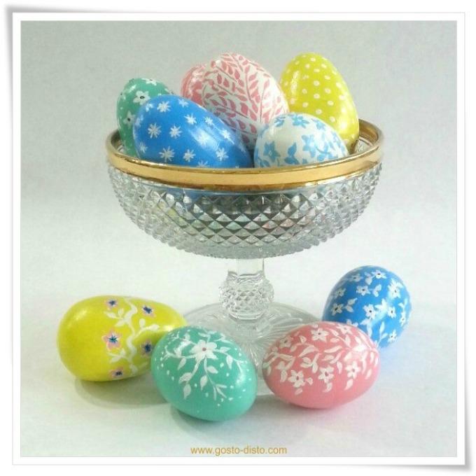 Ovos de Páscoa pintados e decorados – história e DIY