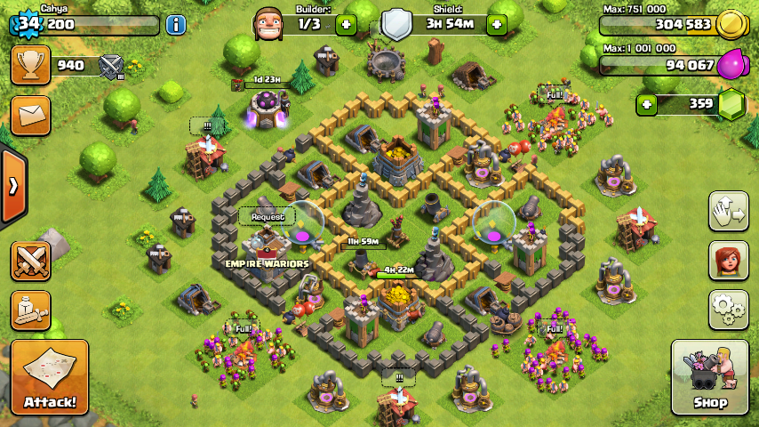 Base Coc Th 6 Max Terkuat 9