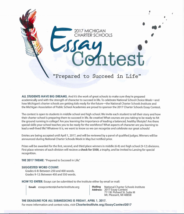 science essay contest opens for high Hektoen international is inviting you to participate in the hektoen international summer essay contest on the theme  high quality and  (opens in new.