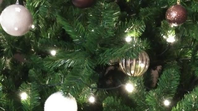 Navidad, Árbol, Luces,
