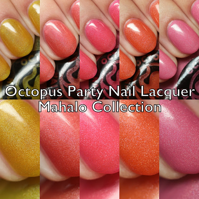 Octopus Party Nail Lacquer Mahalo Collection