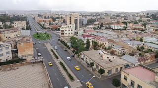 Asmara is well maintained for African circumstances