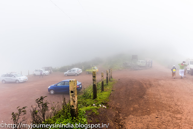 Car Parking at Mullayanagiri Peak