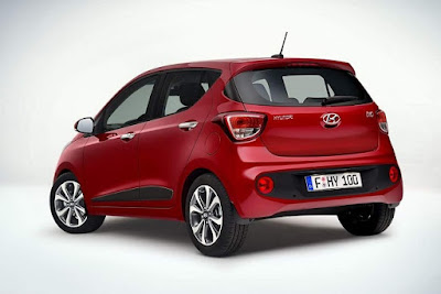 New 2017 Hyundai Grand i10 Facelift left side rear three qauter image