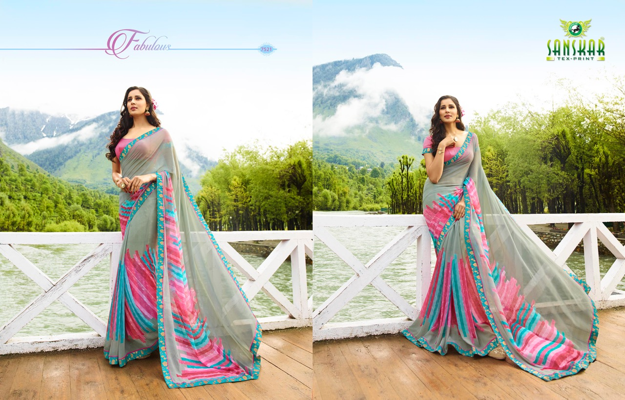 Suhane Pal 9 – Ladies Casual Wear Printed Saree Exporter, Wholesale