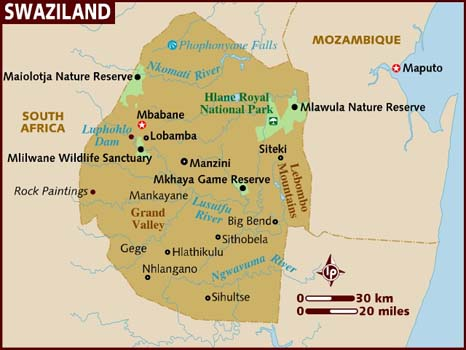 Swaziland Facts In Hindi
