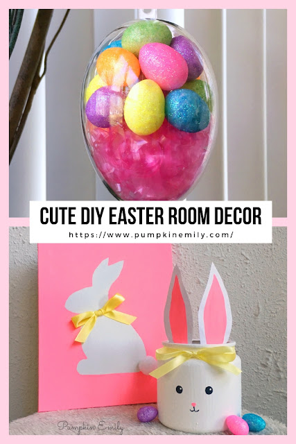 3 Cute DIY Easter Room Decorations