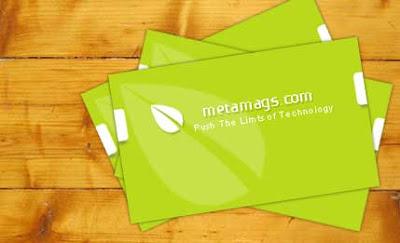 tarjeta personal plantilla gratis