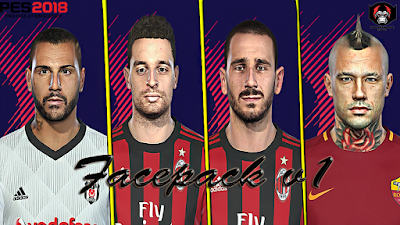 PES 2018 Facepack by Prince Hamiz