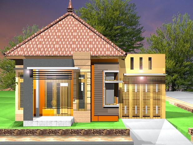 Desain Rumah Klasik Sederhana Minimalis Gambar