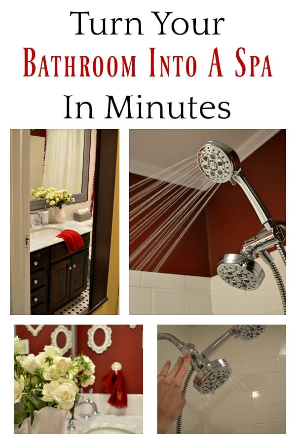 Turn Your Bathroom Into A Spa In Minutes