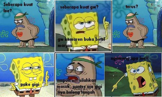 Komik Spongebob Lucu