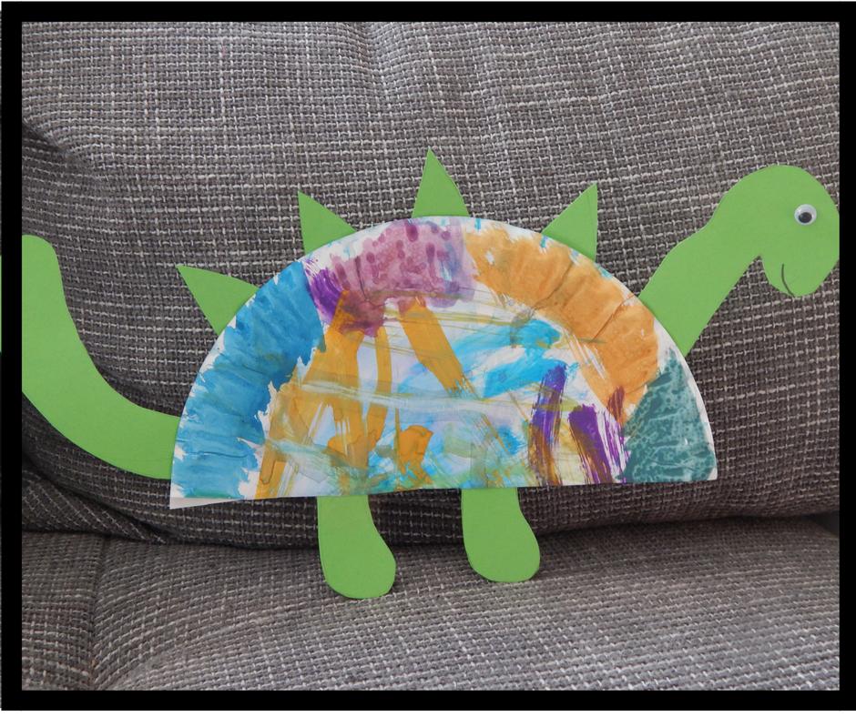 Familie Und Mehr Wir Waren Wieder Kreativ Dinosaurier Aus