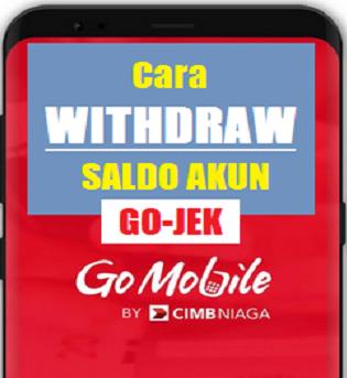 Cara withdraw gojek