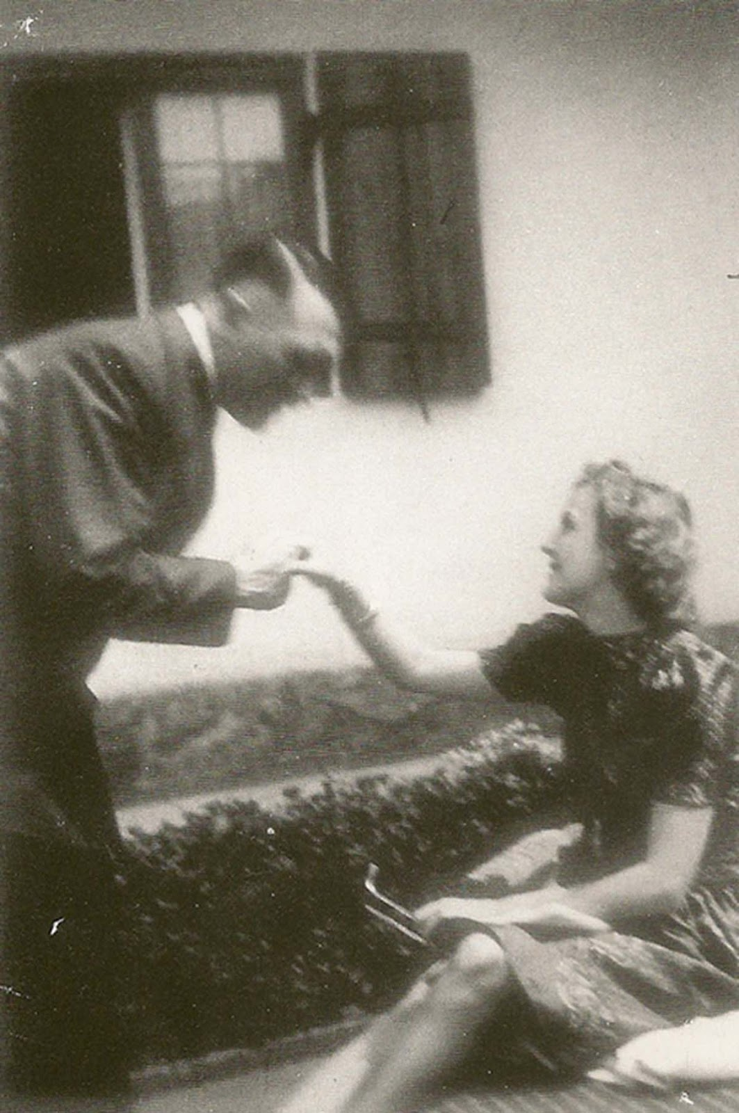 Hitler was very fond of her, and worried when she participated in sports or was late returning for tea.