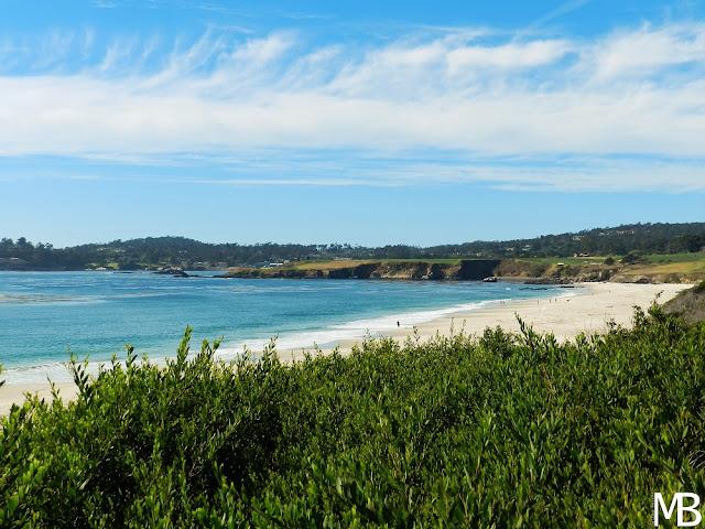 carmel by the sea spiaggia california