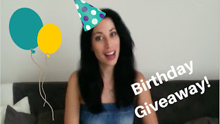Will you be a winner? Birthday #giveaway #SeptVidChallenge
