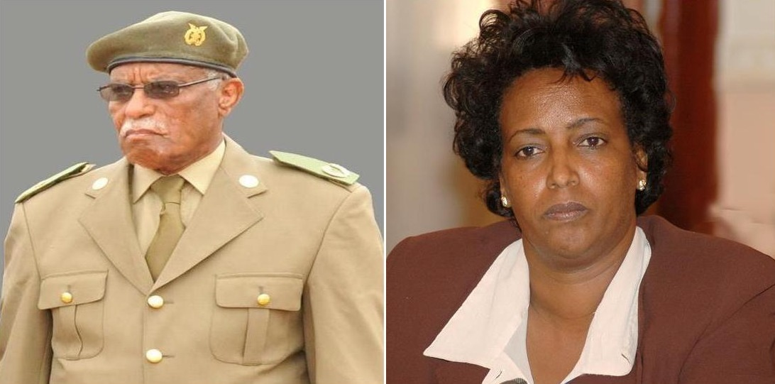 <Eritrean heroes Brig. Gen. Musa Rabea and Governor Tsegereda Woldegergis passed away