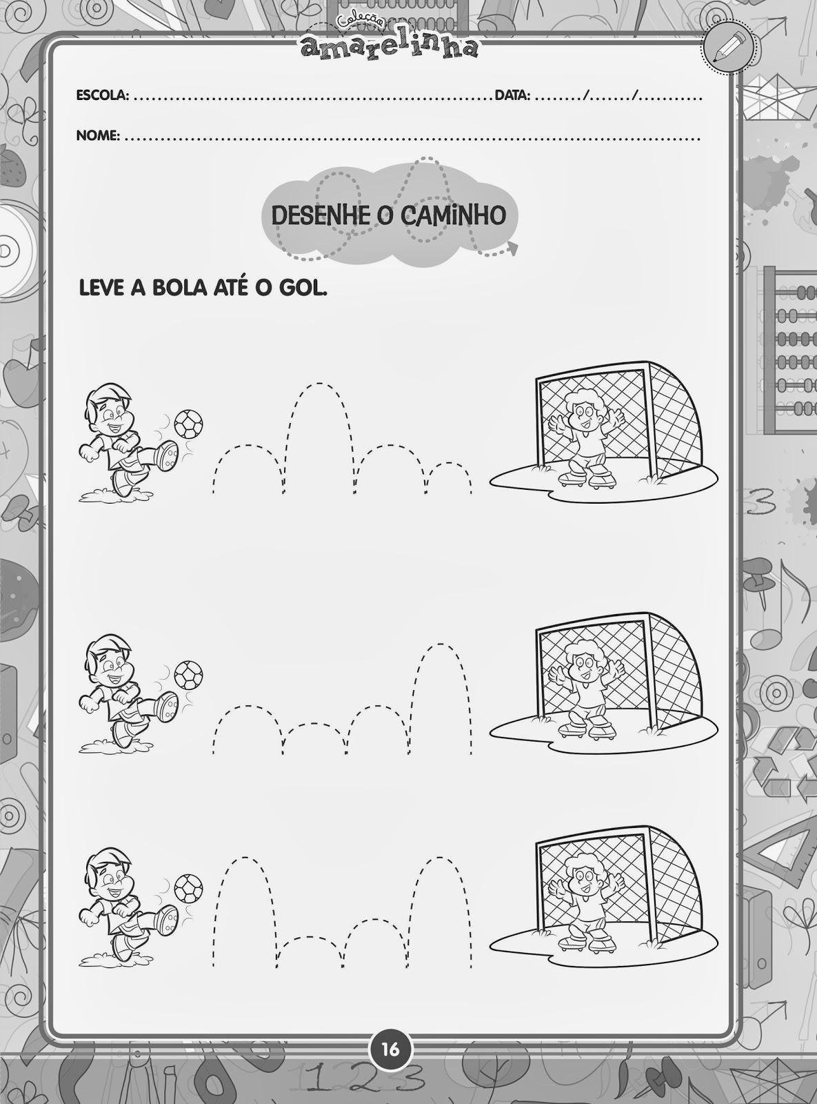 Leve a bola até o gol