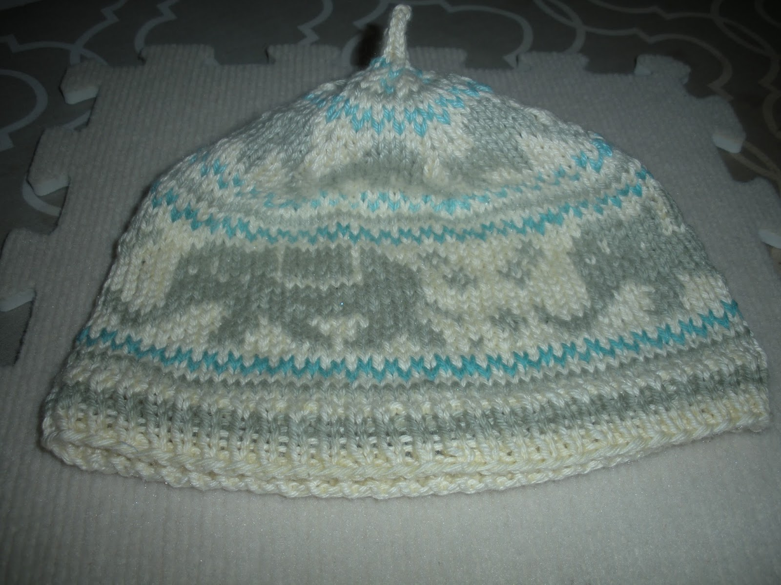 Free Hat Knitting Patterns Uk : Yarn in out free pattern link knitted elephant hat