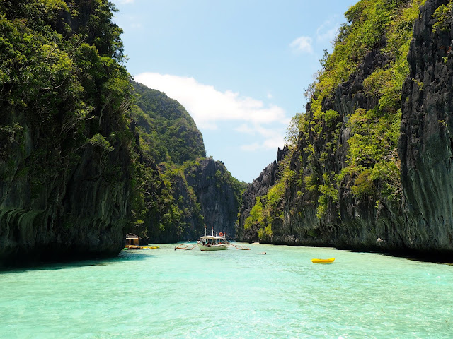 Entrance to Big Lagoon on Tour A of Bacuit Bay, El Nido, Palawan, Philippines