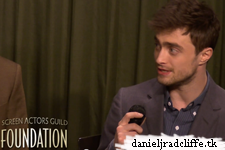 Updated: SAG Foundation Q&A with Daniel Radcliffe and Dane DeHaan