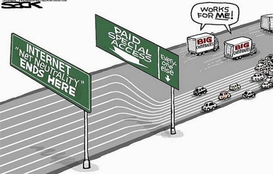 Abolita negli USA la Neutrality Net: panico in internet
