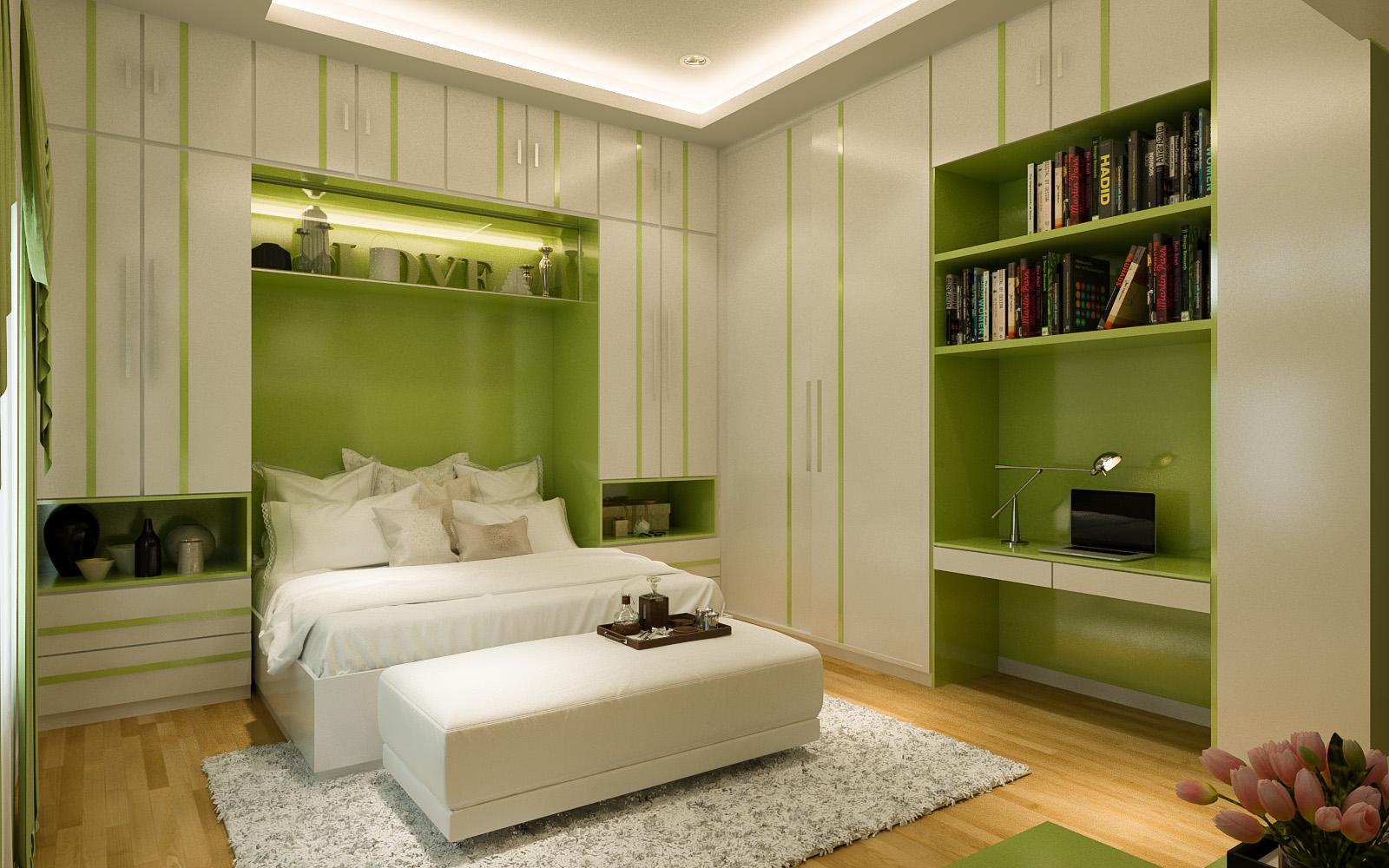 Desain Interior Kamar Tidur Utama Milik Pak Samsul Makassar Jasa Desain Rumah