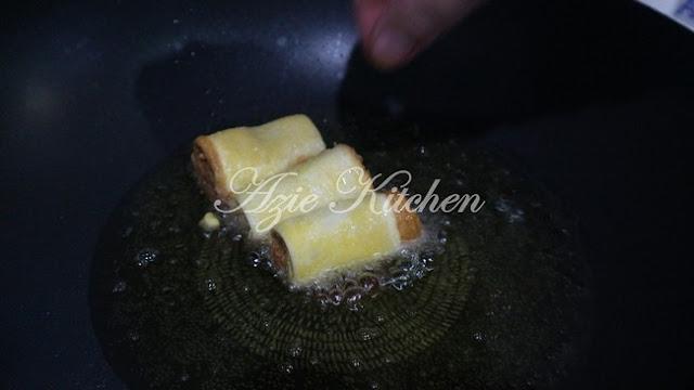 Roti Sardin Gulung Mudah dan Sedap