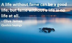quotes on fame