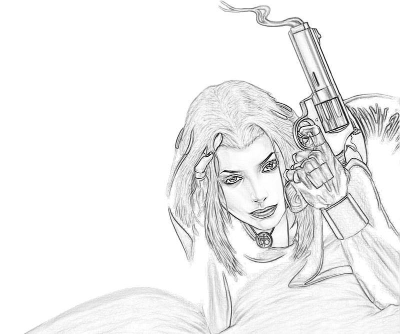 blood-rayne-2-rayne-pistol-coloring-pages
