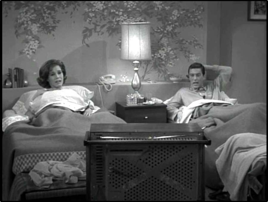 Image result for Dick van dyke twin beds