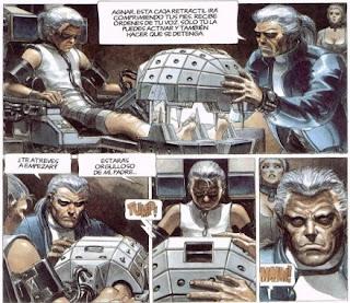Viñetas de la novela gráfica La casta de los metabarones