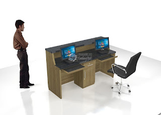 Meja Resepsionis Kantor - Furniture Kantor Semarang