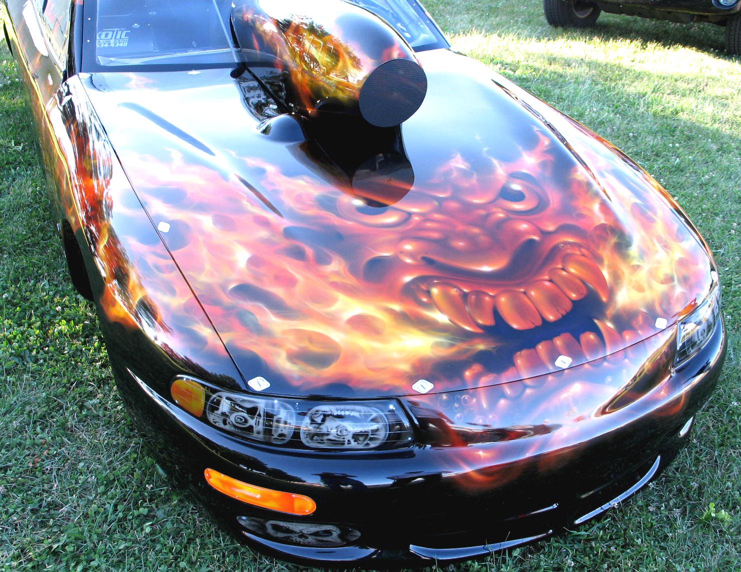 Inspired Ambitions: Airbrush Art on Cars  Inspired Ambiti...