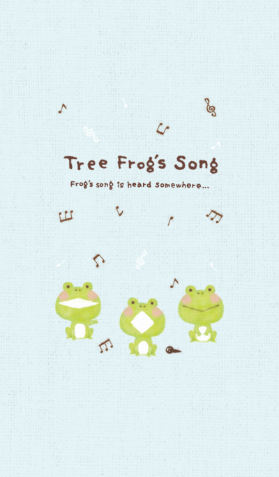 Tree Frog's Song